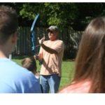 Pastor Bill - loading arrow